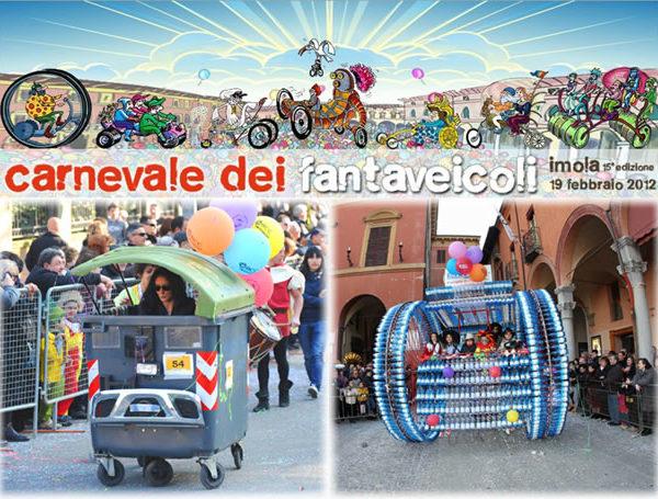 Fantaveicoli a Imola: Carnevale con emissioni zero!!