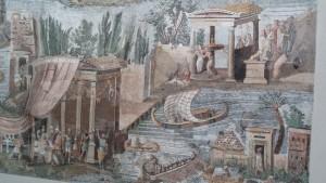 Porzione Mosaico del Nilo