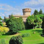 La grande Fortezza Medicea che domina Volterra