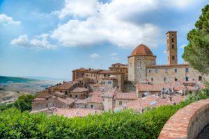 La grande Fortezza Medicea di Volterra