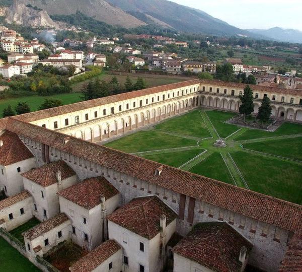 La Certosa di Padula e il suo giardino all'italiana