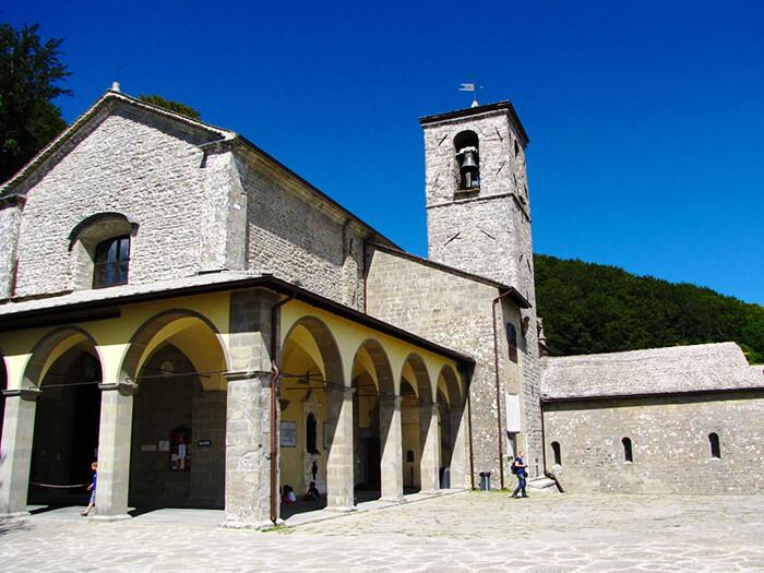 Santuario francescano della Verna