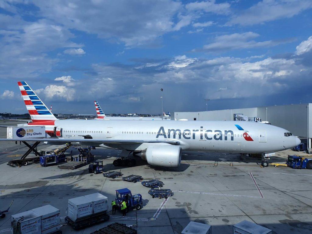 American Airlines rimborso