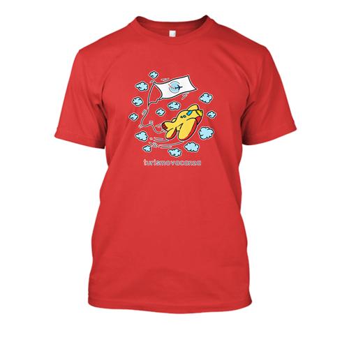 T-Shirt Uomo Rossa