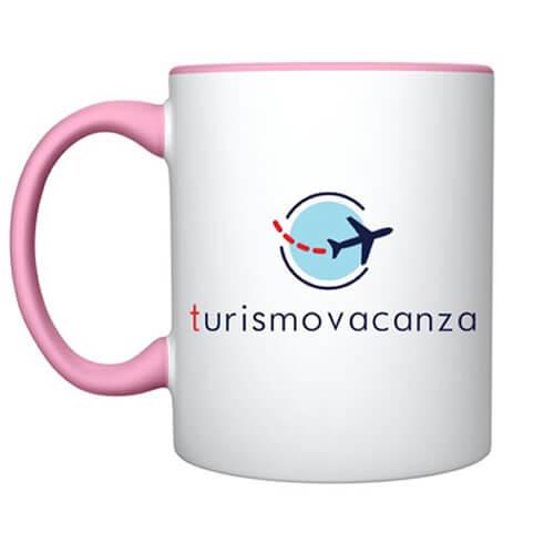 """Tazza Rosa """"Logo"""""""