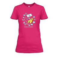 T-Shirt Donna Fucsia
