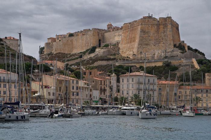 La città di Bonifacio