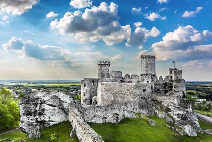 Castelli Nodi D'Aquila in Polonia