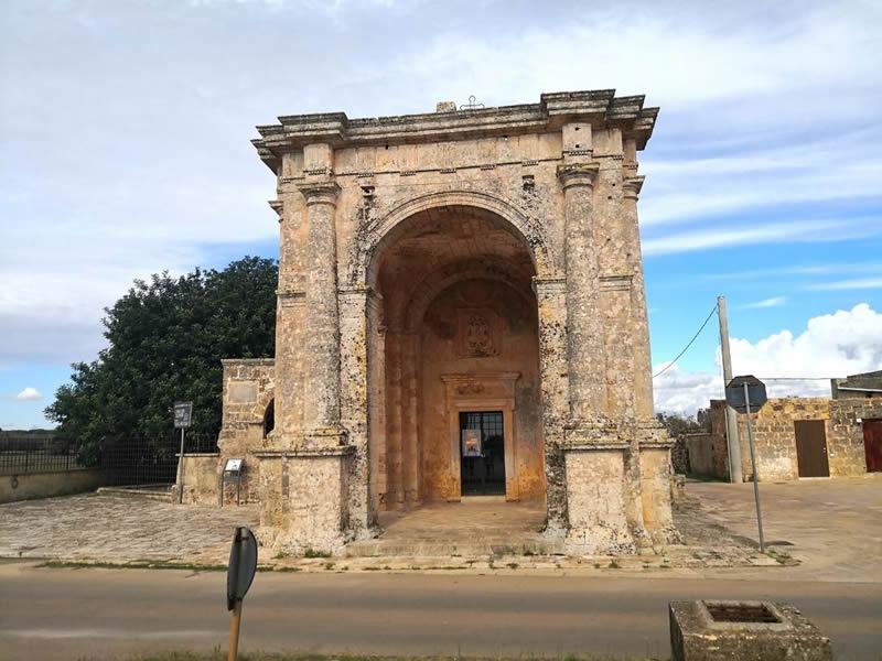 Leuca Piccola o Complesso di Santa Maria del Belvedere