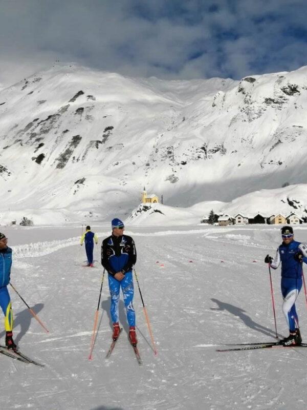 Sciare a Riale, in Alta Val Formazza
