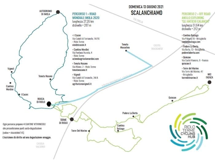 Scalanchiamo a Riolo Terme: il programma della pedalata estiva