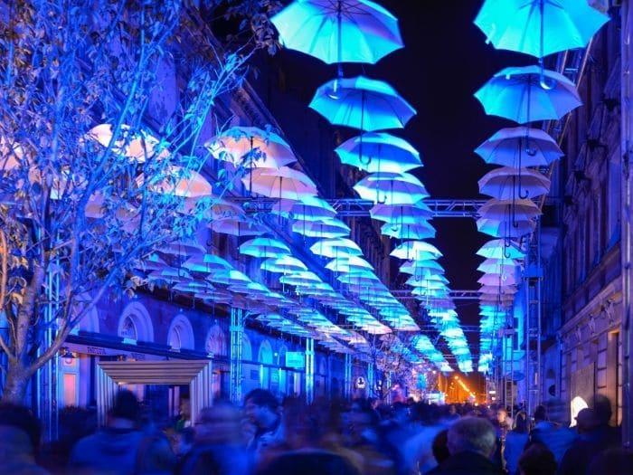 Ecco perchè visitare Lodz in Polonia: Light Move Festival