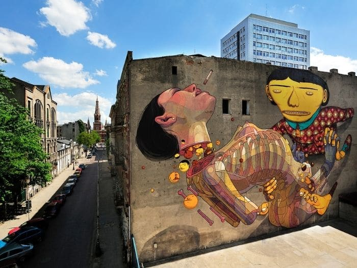 Perchè visitare Lodz in Polonia: i murales