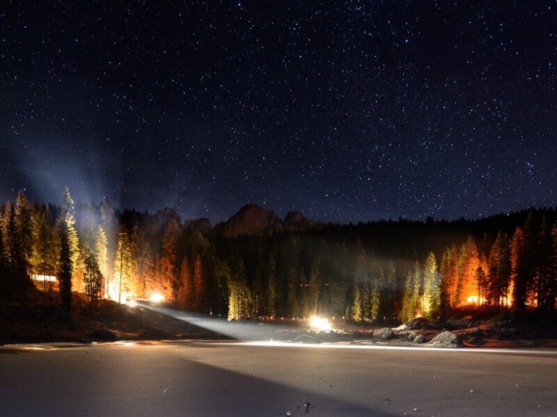 Lago di Carezza: mercatini di Natale